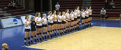Wittenberg Volleyball at NCAA